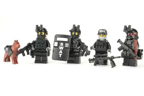 SWAT Team Police Officer Tactical Unit (SKU53) made with ...