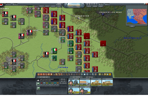 Decisive Campaigns: Barbarossa - screenshots gallery ...