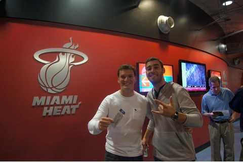 Miami Heat Basketball Game, January 2013 - South Beach ...