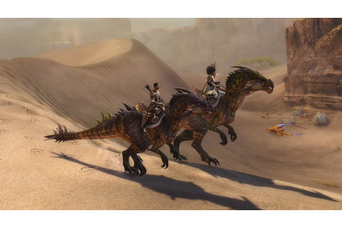 Guild Wars 2: Path of Fire – Expansion Feature – Mounts ...