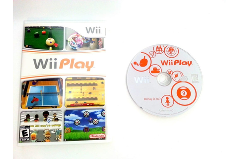 Wii Play (Game only) game for Wii | The Game Guy