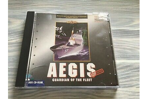 Aegis: Guardian of the Fleet - PC CD Computer game ...