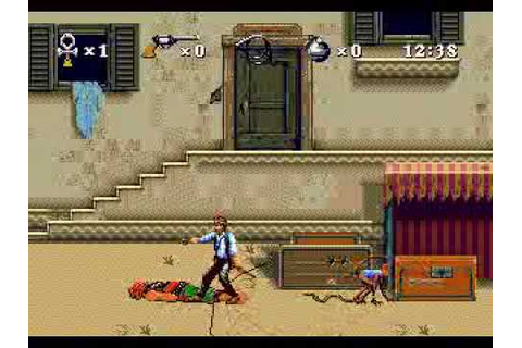 Young Indiana Jones: Instruments of Chaos (Genesis) with ...