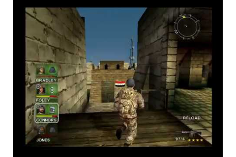 Conflict: Desert Storm - PS2 - Mission 15 - Lights Out ...