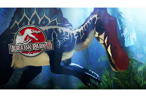 JURASSIC PARK 3 COME TO LIFE! SPINOSAURUS ADDED | Raptors ...
