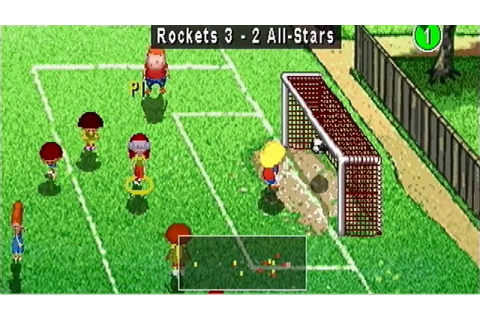 Backyard Soccer (PS1) Gameplay - YouTube