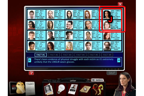 Criminal Minds Walkthrough, Guide, & Tips | Big Fish