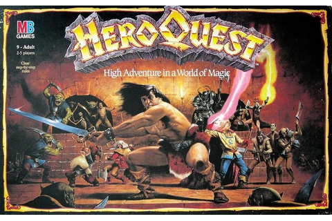 HeroQuest | Board Game | BoardGameGeek