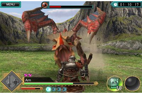 MONSTER HUNTER Dynamic Hunting iPhone game - free ...