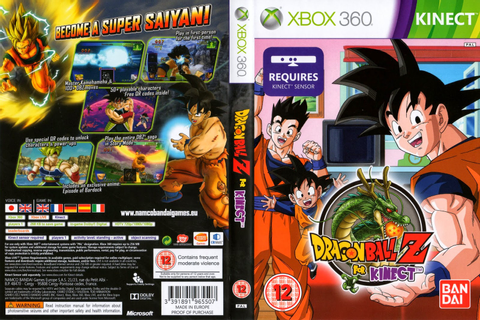 Dragon Ball Z Kinect PAL XBOX360 | Free Download Dragon ...