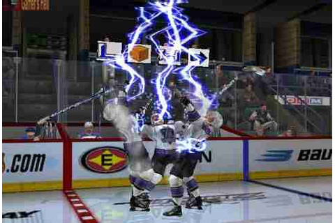 NHL Hitz 2003's Hockey Video Game Fights & Insults Changed ...