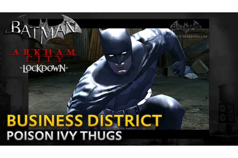 Batman: Arkham City Lockdown - Walkthrough - Business ...