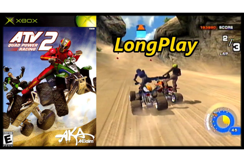 ATV: Quad Power Racing 2 - Longplay (Xbox) Career & Arcade ...