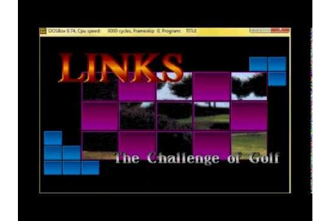 Links - The Challenge of Golf - DOS game - Intro music ...