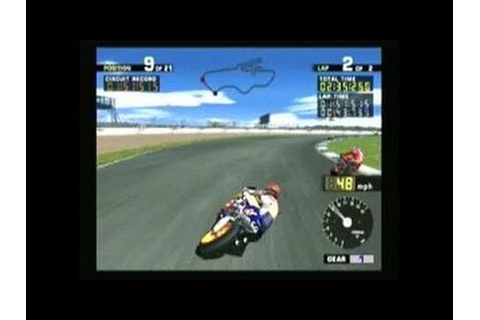 MotoGP (2000) PlayStation 2 Gameplay - YouTube
