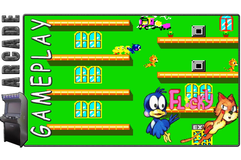 Flicky | Arcade Version | Gameplay - YouTube