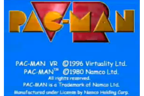 Pac-Man VR - V-Rtifacts