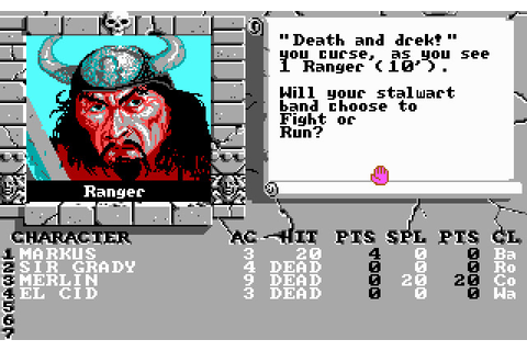 The Bard's Tale II: The Destiny Knight (1988 - DOS ...
