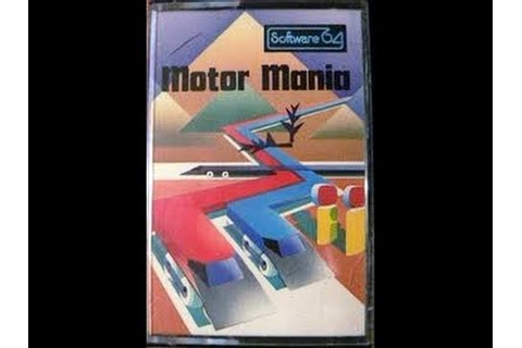 MOTOR MANIA C64 UMI COMMODORE 64 1982 CLASSIC RETRO VIDEO ...
