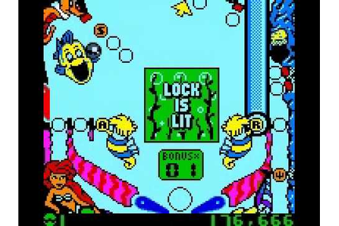 The Little Mermaid 2-PInball Frenzy (Só para Gameboy Color ...