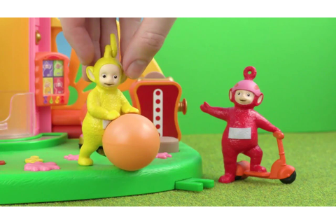 Teletubbies: Teletubbies chase the ball | Toy Play Video ...