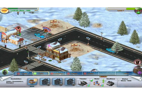 Winter Resort Tycoon Gameplay HD - YouTube