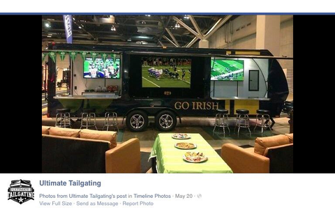 Pin by Ultimate Tailgating on Game Day Executive Suite ...