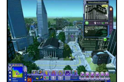 SimCity Sociétés : Walktrought - YouTube