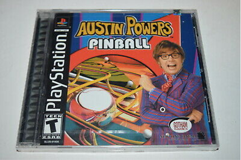 Austin Powers Pinball Playstation PS1 Video Game New ...