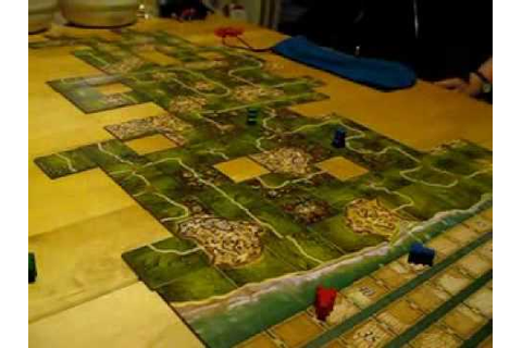 Board game: Carcassonne - New World - YouTube