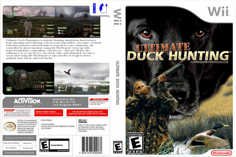 Ultimate Duck Hunting - Nintendo Wii Game Covers ...
