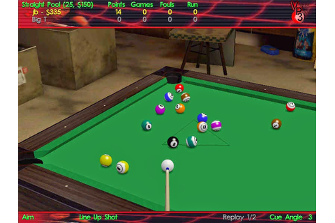Virtual Pool 3 - Full Version Games Download - PcGameFreeTop
