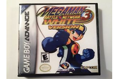 Megaman Battle Network 3 White Version - GBA - Replacement ...