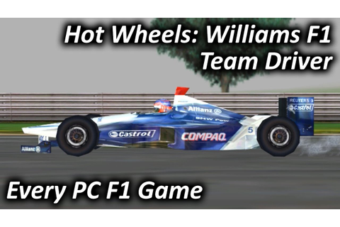 Hot Wheels: Williams F1 Team Driver (2002) - Every PC F1 ...