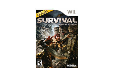 Cabela's Survival: Shadows of Katmai - Nintendo Wii game