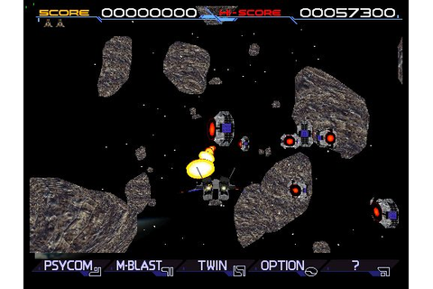 Solar Assault (1996) by Konami Arcade game