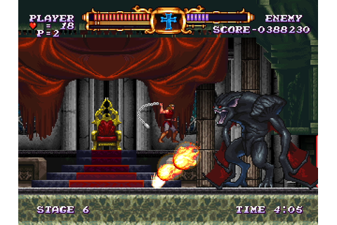 Ending for Castlevania: The Adventure Rebirth (Nintendo ...