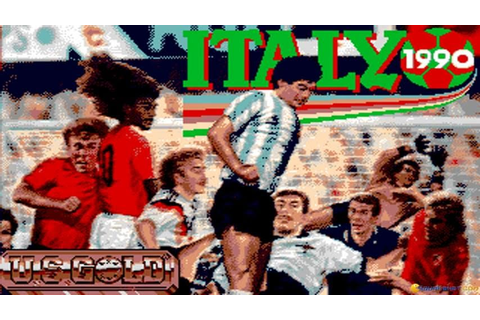 Italia 90 gameplay (PC Game, 1990) - YouTube