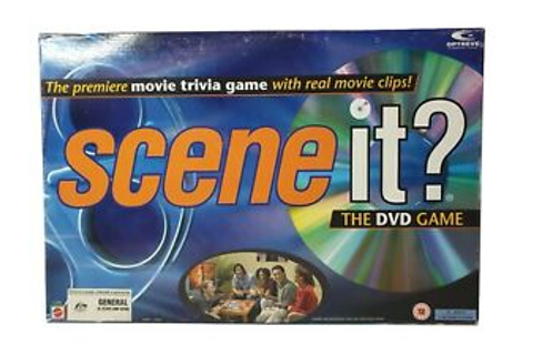 Scene it DVD Board Game 100% Complete HTF | eBay