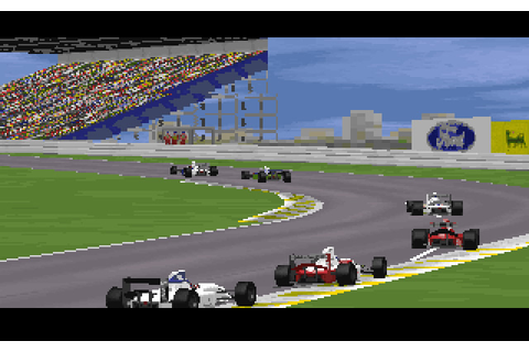 Grand Prix 2 racing for DOS (1995) - Abandonware DOS