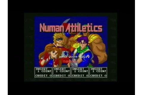 Gameplay Numan Athletics : Une course - jeuxvideo.com