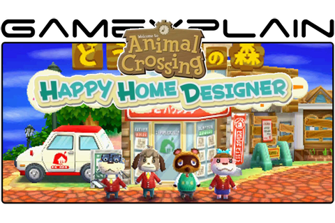 Animal Crossing: Happy Home Designer - Game & Watch (First ...