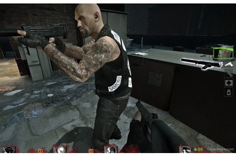 Sons of Anarchy vest for Francis (Left 4 Dead 2) - GameMaps