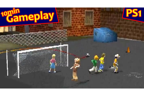 XS Junior League Soccer ... (PS1) - YouTube