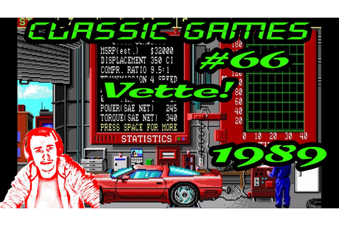 Classic Games - #66 Vette! (1989) - YouTube