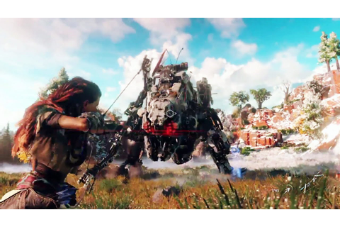 PS4 - Horizon Zero Dawn Gameplay Walkthrough - YouTube