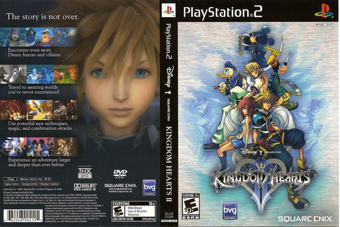 Kingdom Hearts II (USA) ISO