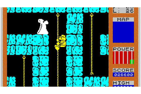 The Best ZX Spectrum Games Ever: Fred (complete ...