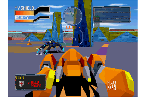 Cyber Sled Screenshots for PlayStation - MobyGames