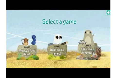 Oona's Adventure - Puffin Rock Games - YouTube